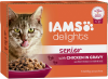 Iams Delights Katzennassfutter Senior Huhn in Sauce ´´Inhalt: 12 x 85 g´´