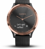 Garmin Activity Tracker vivomove HR Sport S/M ´´schwarz/rosegold´´