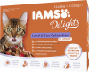 Iams Delights Katzennassfutter Land & See Collection in Sauce ´´Inhalt: 12 x 85 g´´
