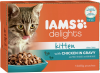 Iams Delights Katzennassfutter Kitten Huhn in Sauce ´´Inhalt: 12 x 85 g´´