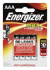 Energizer Max Alkaline Micro AAA ´´1,5 V, 4er Pack´´