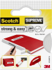 3M Strong & Easy 4105W19 Gewebeklebeband Scotch® Weiß (L x B) 3m x 19mm 1 Rolle(n)
