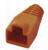 MH Connectors RJ45-Knickschutztülle MHRJ45SRB-O Orange 6510-0100-09