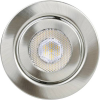 TLT International Opia LT1153537 LED-Einbauleuchte 3er Set EEK: LED (A++ - E) 12W Warm-Weiß Nickel