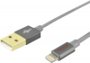 Ednet iPad/iPhone/iPod Ladekabel/Datenkabel [1x USB 2.0 Stecker A - 1x Apple Lightning-Stecker] 1m S