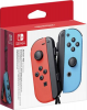 Nintendo 2x Joy-Con Gamepad Switch Neon-Rot, Neon-Blau