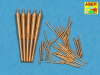 Set of Barrels for Narvic classe destroyers type 1936A: 150mm x 5 - 37mm x 8 - 37mm(M42) x 10 - 20mm x 18