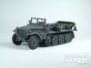 WWII German Sd. Kfz. 10 Halftrack