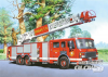 Fire Engine, Puzzle 60 Teile