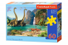In the Dinosaurus World - Puzzle - 60 Teile