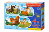 Forest Animals - Puzzle - 3+4+6+9 Teile