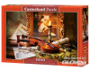 Still Life with Violin and Painting,Puzzle 1000 Teile