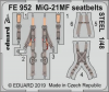 MiG-21MF - Seatbelts STEEL [Eduard]