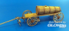 Hay wagon with wooden tank