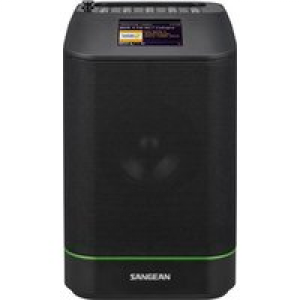 Sangean WFS-58 Internet Kofferradio DAB+, UKW AUX, Bluetooth®, WLAN, Internetradio Multiroom-fähig