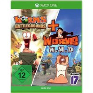 Worms Battlegrounds + W.M.D Double Pack Xbox One USK: 12