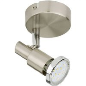 Briloner Cool 2991-012B Deckenstrahler LED GU10 EEK: A+ (A++ - E) 3W Nickel (matt)
