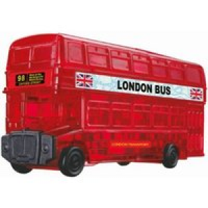 HCM Kinzel 3D Crystal Puzzle London Bus 53 Teile