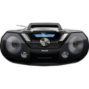 Philips AZB798T DAB+ CD-Radio Bluetooth®, CD, DAB+, Kassette, UKW, USB Schwarz