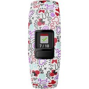 Garmin vívofit jr 2 - Disney Minnie Maus Gr. S Fitness-Tracker S Bunt
