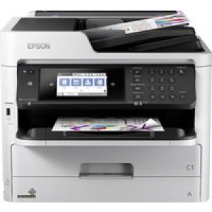 Epson WorkForce Pro WF-C5790DWF Farb Tintenstrahl Multifunktionsdrucker A4 Drucker, Scanner, Kopiere
