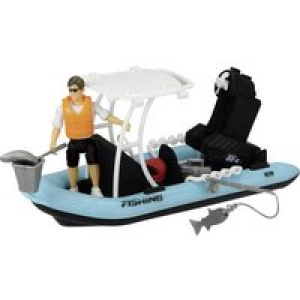 14 teiliges Spielset Playlife Fishing Boat 203833004 1St.