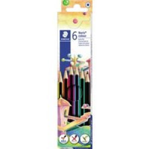 Staedtler Farbstift Noris® colour 185 Set sechskant 185 C6 6St.