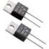 Vishay RTO 20 F Hochlast-Widerstand 6.8Ω axial bedrahtet TO-220 20W 1% 1St.