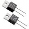 Vishay RTO 20 F Hochlast-Widerstand 68Ω axial bedrahtet TO-220 20W 1% 1St.