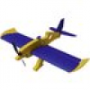 Miniprop Acro Magnum Flugmodell RC Indoor-, Microflugmodell Bausatz 820mm