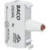BACO BA33EAGL LED-Element Grün 12 V/DC, 24 V/DC 1St.