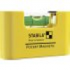 Stabila POCKET MAGNETIC 17774 Mini-Wasserwaage 7cm 1 mm/m