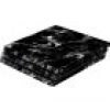 Software Pyramide Skin für PS4 Pro Konsole Black Marble Cover PS4 Pro