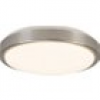Brilliant Livius G94496A21 LED-Deckenleuchte EEK: LED (A++ - E) 18W Warm-Weiß Nickel, Aluminium, We