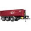 Wiking 077826 Spur 1 Krampe Hakenlift THL 30L mit Abrollcontainer Big Body 750