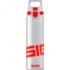 SIGG Trinkflasche TOTAL CLEAR ONE 8632.80 Transparent, Rot 750ml