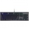 Cooler Master CK550 USB Gaming-Tastatur Beleuchtet, Switch: Red Deutsch, QWERTZ, Windows® Metallic,