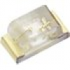 Kingbright KPHHS-1005SURCK SMD-LED 0402 Rot 70 mcd 120° 20mA 1.95V