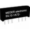 StandexMeder Electronics SIL05-1A72-71L Reed-Relais 1 Schließer 5 V/DC 1A 15W SIL-4
