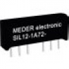 StandexMeder Electronics SIL12-1A72-71L Reed-Relais 1 Schließer 12 V/DC 1A 15W SIL-4