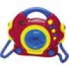 AEG CDK 4229 Kids Line Kinder CD-Player CD Inkl. Karaoke-Funktion, Inkl. Mikrofon Rot, Bunt