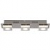 Brilliant Transit G67430/21 LED-Deckenleuchte EEK: LED (A++ - E) 12W Warm-Weiß Nickel, Aluminium