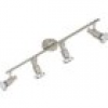 Briloner Cool 2991-042B Deckenstrahler LED GU10 EEK: A+ (A++ - E) 12W Nickel (matt)