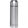 Emsa Isolierbehälter, Thermoflasche Silber 1l 486415