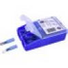 TRU COMPONENTS TC-6646704 Quetschverbinder-Sortiment 1.50mm² 2.50mm² Blau 60St.