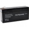 Multipower PB-8-3 MP3-8 Bleiakku 8V 3.2Ah Blei-Vlies (AGM) (B x H x T) 134 x 69 x 36.5mm Flachstecke