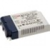 Mean Well IDLV-45A-24 LED-Treiber, LED-Trafo Konstantspannung 45.12W 0 - 1.88A 24 V/DC dimmbar, PFC-